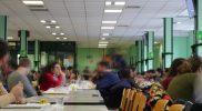 Pranzo alla mensa di Via De Lollis a Roma